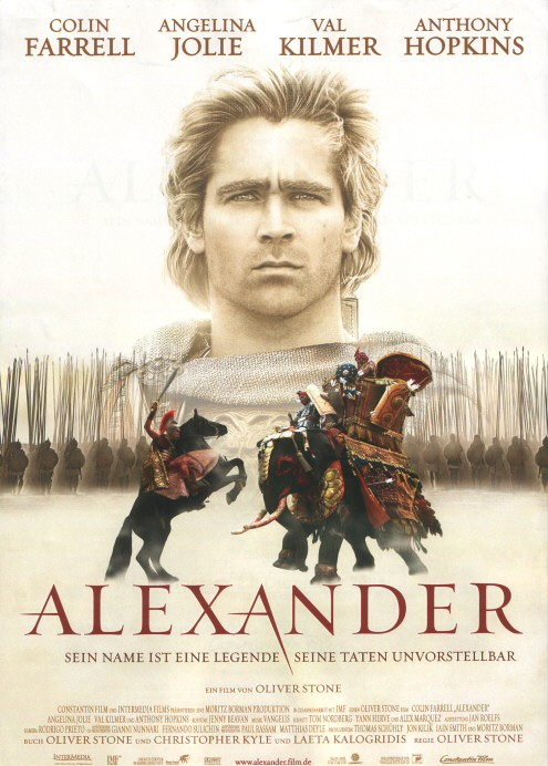 Alexander the Great Oliver Stone Movie
